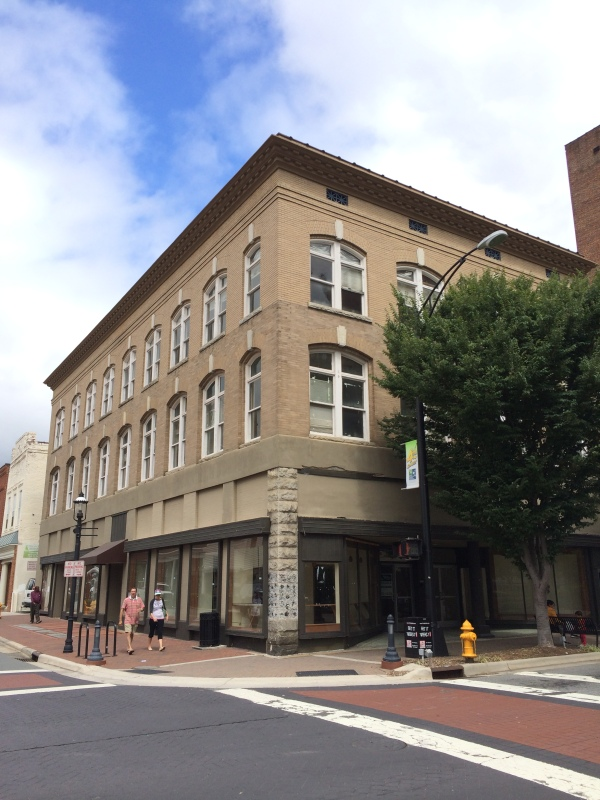 Corner of 4th & Trade Streets
